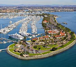 Kona Kai Marina Shelter Island San Diego
