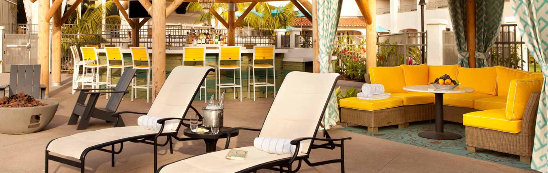 Tiki Bar at Kona Kai Resort San Diego