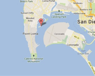 Kona Kai Marina San Diego California