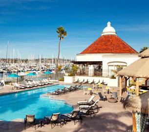 Kona Kai Resort pool in San Diego