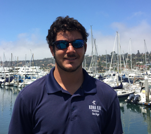 Ryan Catalano, Assistant Dock Master